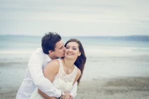 photo de couple butterfly shoot Cherbourg